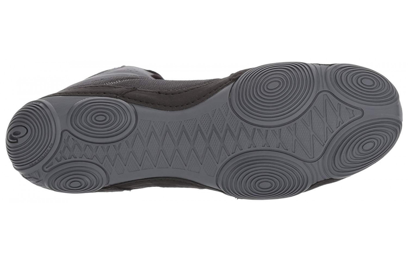 The Snapdown 2's outsole features Serradial Traction Pods