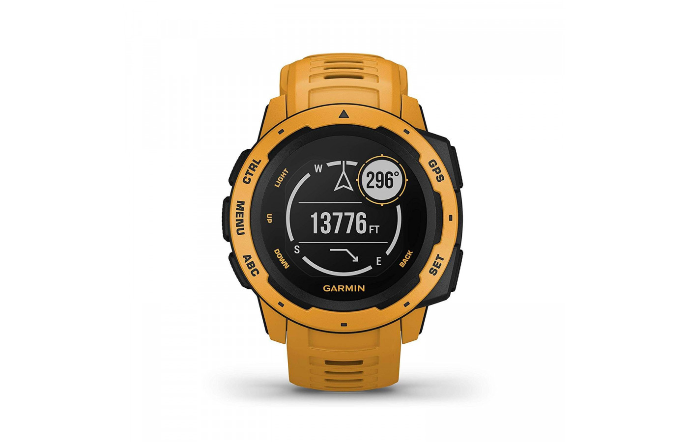 Garmin Instinct GPS Watch Sunburst front