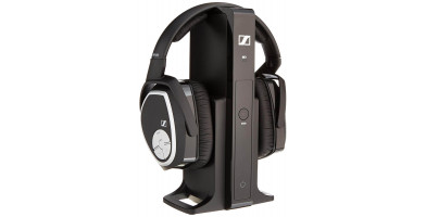 An in depth review of the Sennheiser RS 165 wireless over-the-ear headphone TV system.