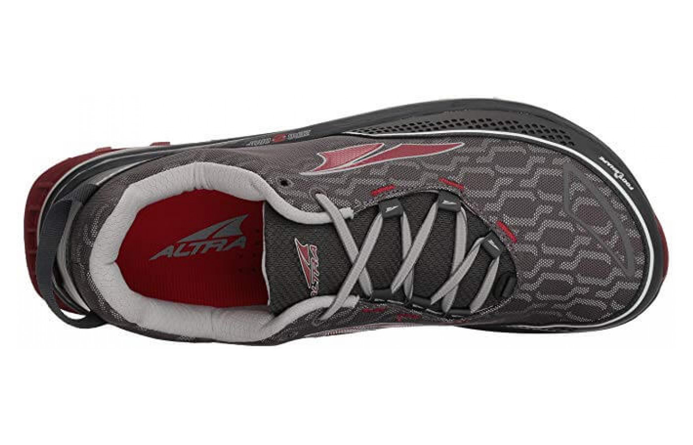 The Timp IQ features a water resistant mesh outsole