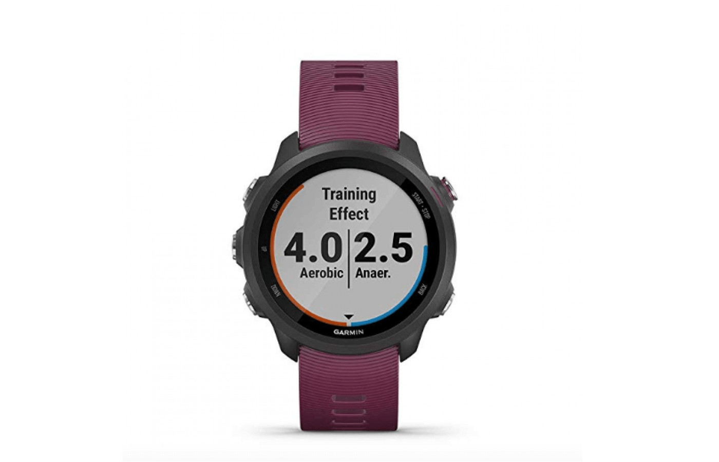The Forerunner 245 includes Garmin Connect for more personalized workouts.