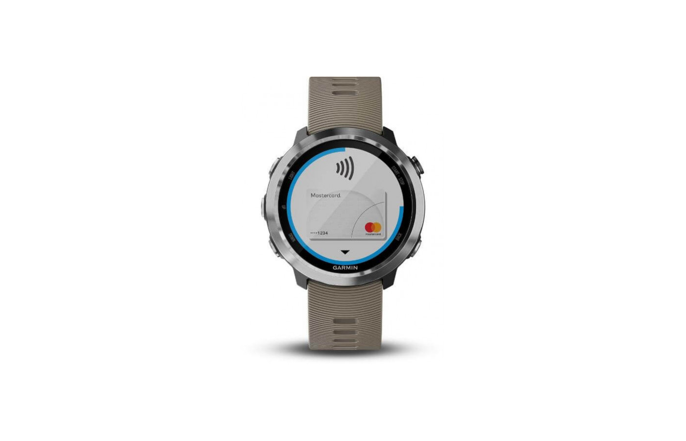 The Forerunner 645 includes Garmin Pay for quicker and easier purchases.