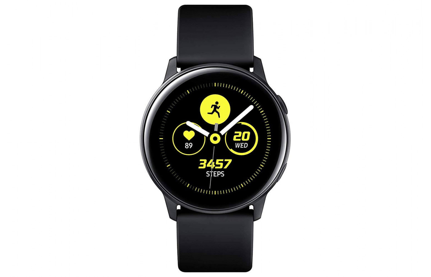 The Galaxy Watch Active is available in four color options.
