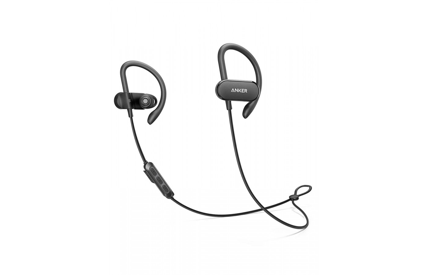 The Soundbuds Curve is outfitted with a waterproof wear and an 18-hour long battery life.