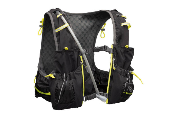 The Nathan Vapor Air 7L 2.0 hydration vest was designed for long periods of time outdoors.