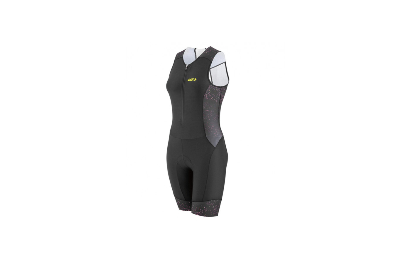 The Pro Carbon tri suit is equipped with coldblack technology
