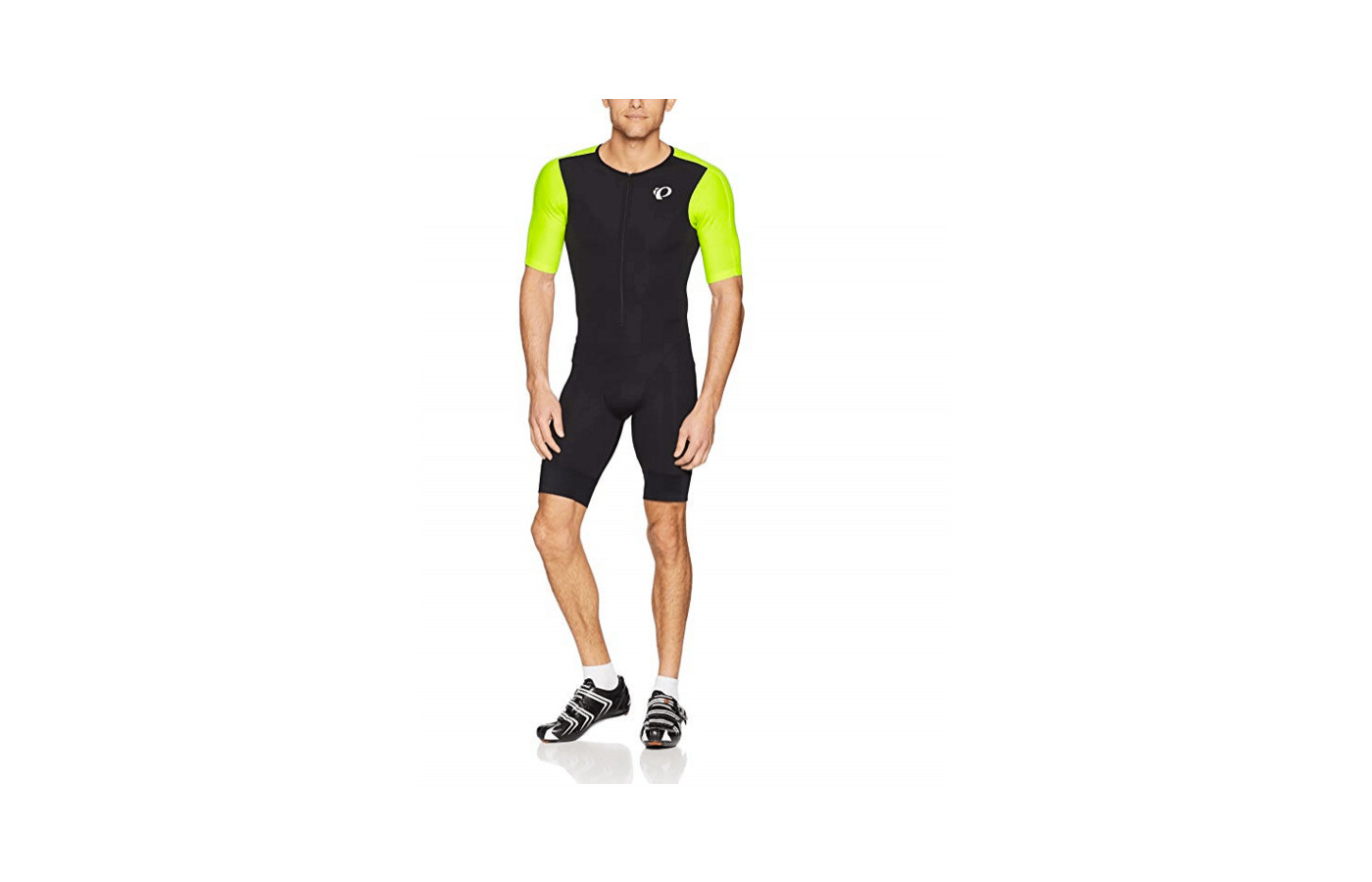 The Elite Tri Speed Suit includes coldblack technology to block UV rays