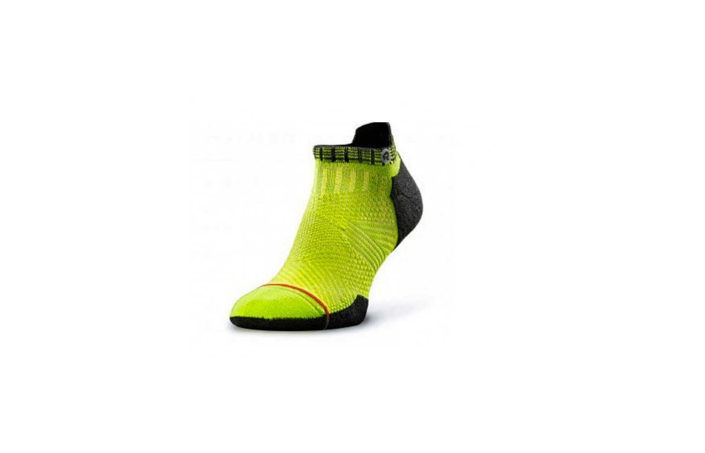 The Accelerate running socks come in four sizes and six color schemes