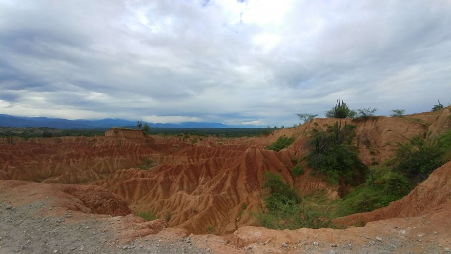 a look at the Tatacoa Desert
