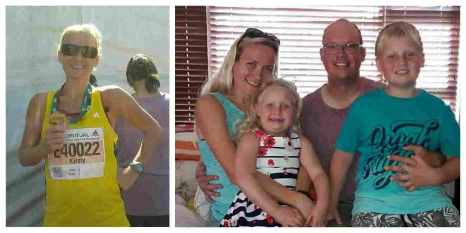 Kirsty Brits and family