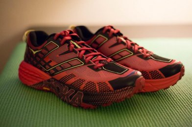 A first look and in depth review of the Hoka One One Speedgoat 2