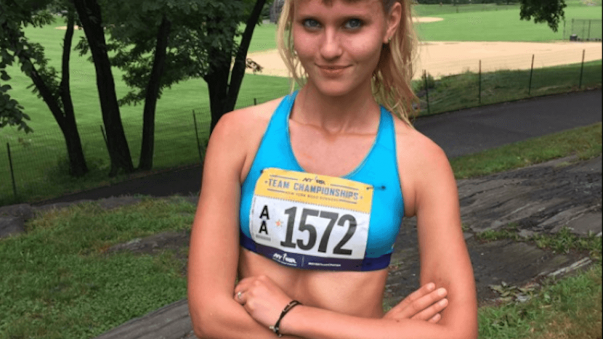 Here's how running helped former model Lucie Beatrix take charge of her career