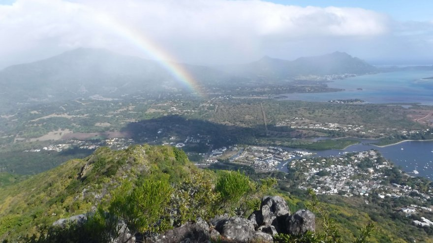 Beautiful Scenery from Dodo Trail Mauritius