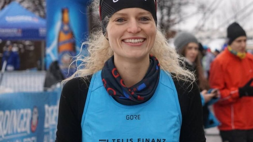 german long distance runner, thea heim, germany, runner
