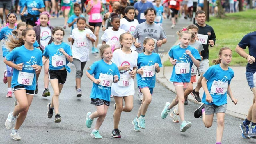 Girls on the Run teaches young ladies the skills needed to crush goal and enjoy running.