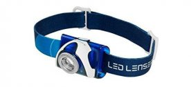 LED Lenser SEO 7R is a good all around headlamp for running at night.