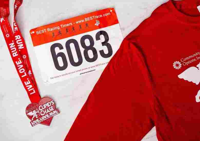The Cupid's Chase 5k is the perfect race to run in February.