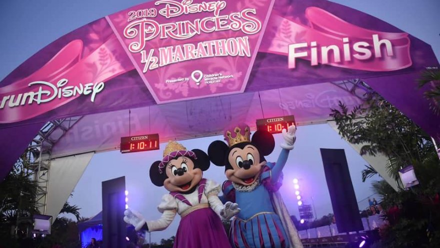 The Disney Princess Half is a fun race, but really isn't best for time because of crowds.