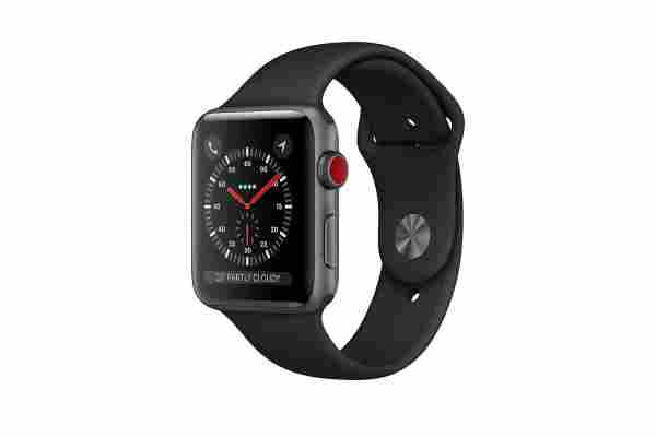 Apple Watch Series 3 Smartwatch With GPS Tracking
