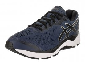 The Asics Gel Foundation 13 cushions the foot and corrects overpronation.