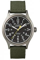 The Timex Expedition Scout is a simple watch that comes in multiple colors and styles.