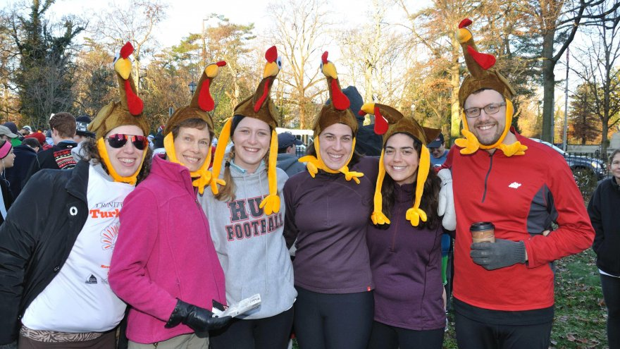 Celebrating Thanksgiving like a runner is one of the best ways to spend your holiday!