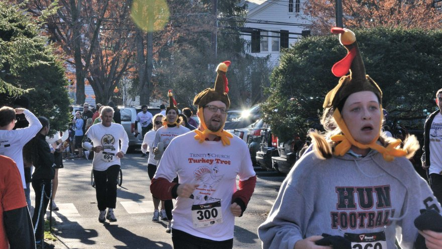The holidays can actually be a GREAT time for running!