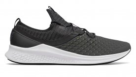 The New Balance Fresh Foam Lazr Hyposkin is a comfortable and versatile running shoe that works for most foot shapes.