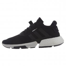 The Adidas POD S3.1 features a loose-knit mesh upper with reflective 3M mesh underneath.