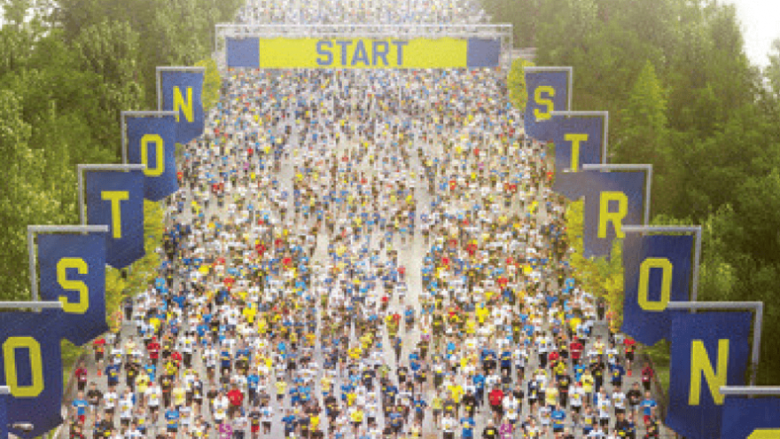 Insights on Boston Marathon Runners and Where the Statistics Fall