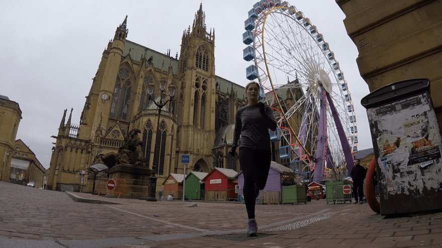 Destination Run: Running the Streets of Historical Metz, France