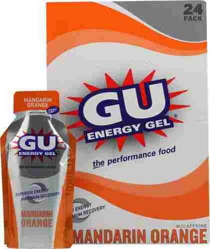 8. GU Energy Gel Mandarin Orange