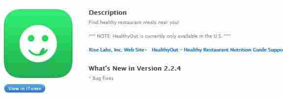 9. HealthyOut – Healthy Restaurant