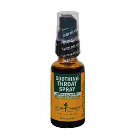 6.  Herb Pharm Soothing Throat Spray
