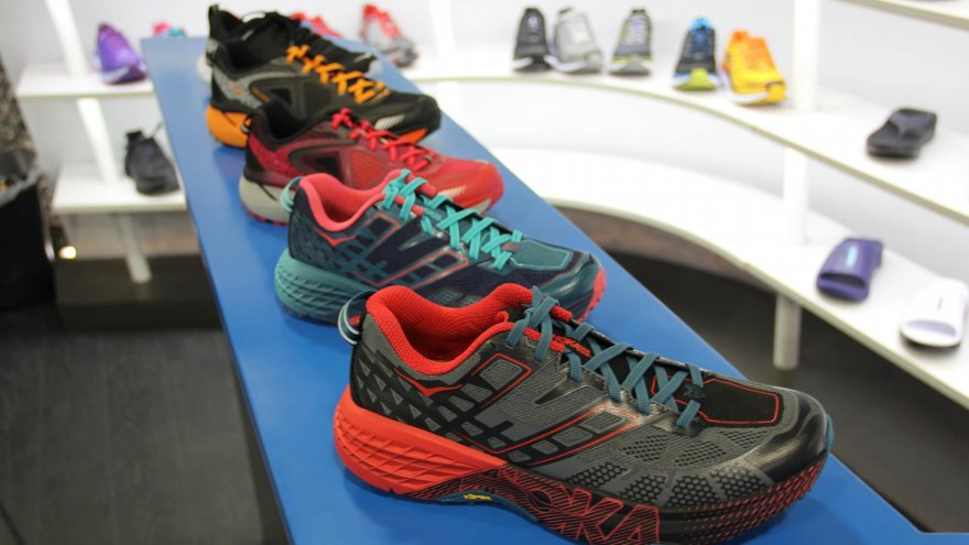 An article of Outdoor Retailer Winter Market 2017: Hoka One One Product Showcase