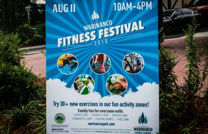 The Warinanco Park Fitness Festival brought together workout lovers and instructors for a fitness-filled day.