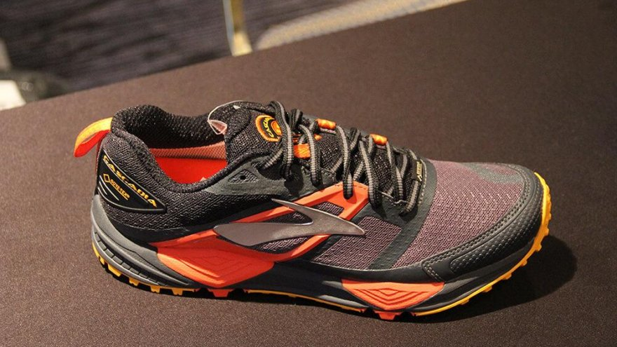 showcase of brooks gear at OR in 2017