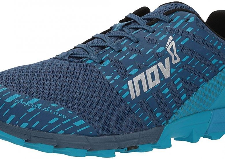 Synthetic Mesh Upper and External Heel Cage on this shoes upper