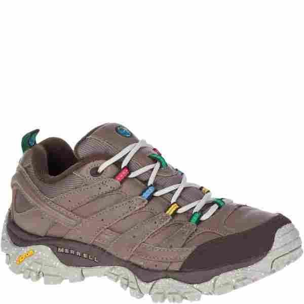 An i depth review of the Merrell Moab 2 Earth Day hiking shoe made from eco-friendly, recycled materials.