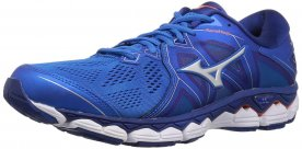 Wave Sky 2 is a highly recommended road racing shoe that provides lots of cushioning.