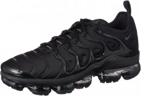 The Nike Air VaporMax Plus features a TPU cage and Neoprene upper.