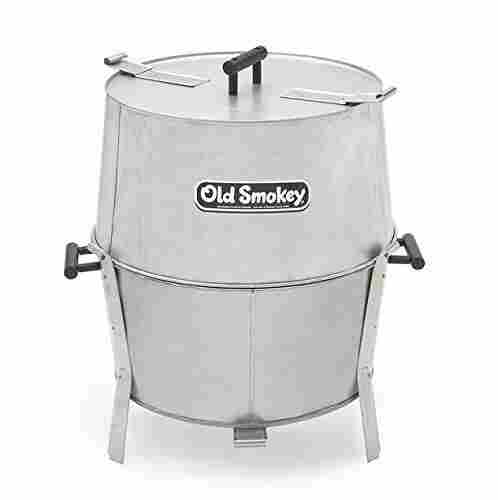 12. Old Smokey Charcoal Grill