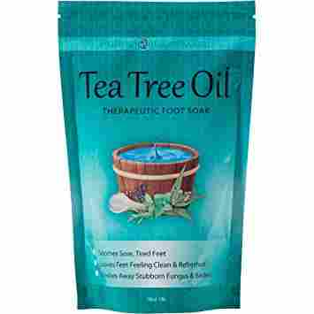 Purely Northwest Foot and Toenail System with 16 oz Tea Tree Oil Foot Soak