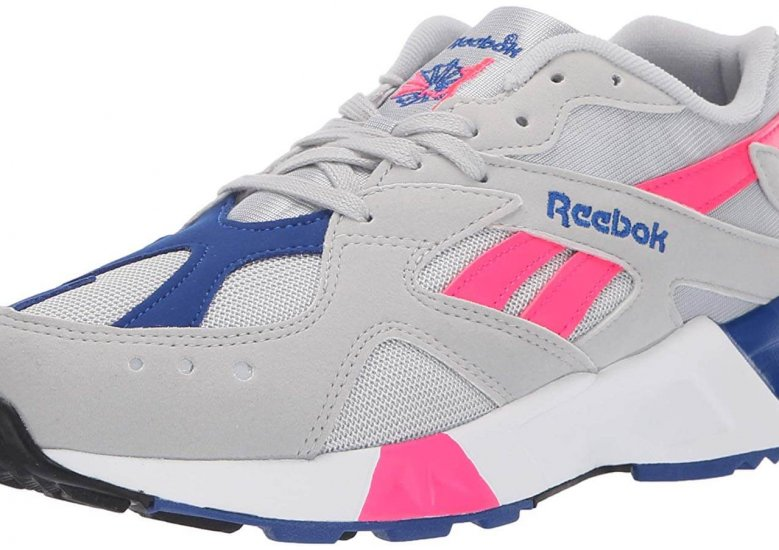 The Reebok Aztrek is a throwback to the 90s with its retro design.