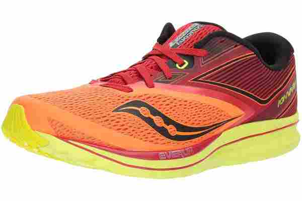 An in depth review of the Saucony Kinvara 9 lightweight minimalist racing shoe.
