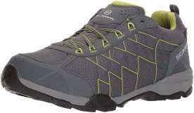 The SCARPA Hydrogen GTX features a TPU cage and all-around Gore-Tex protection.