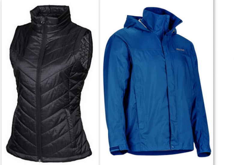 Running vests and jackets are both great layering options for cold weather runs.