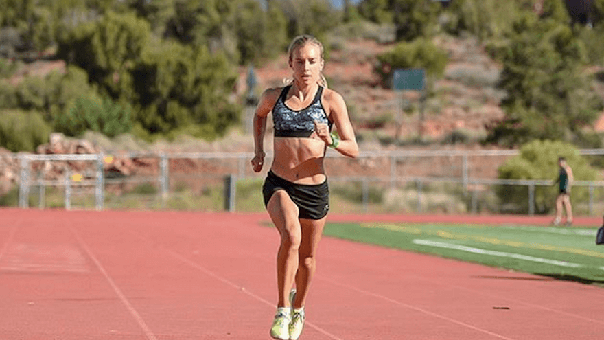 Emily Sisson is quickly becoming a household name among running pros after her recent (almost) record brekaing half marathon.