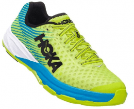 The Hoka One One EVO Carbon Rocket is intended for workouts and half marathons