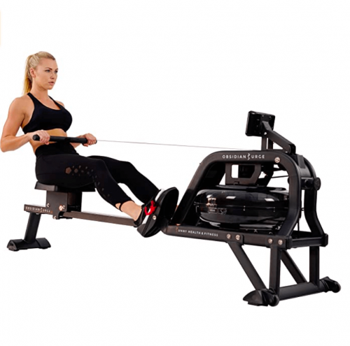 Sunny Health & Fitness Water Rowing Machine 2